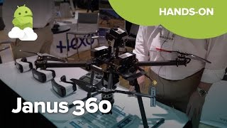 Janus 360 is a $20K drone made for Virtual Reality