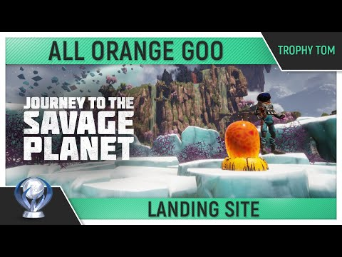 Journey to the Savage Planet - All Orange Goo - Landing Site 🏆 - Trophy Guide