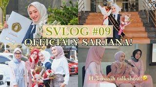 SVLOG #09 AKHIRNYA LULUS SARJANA! NO MORE DRAMA | Seviq Febinita