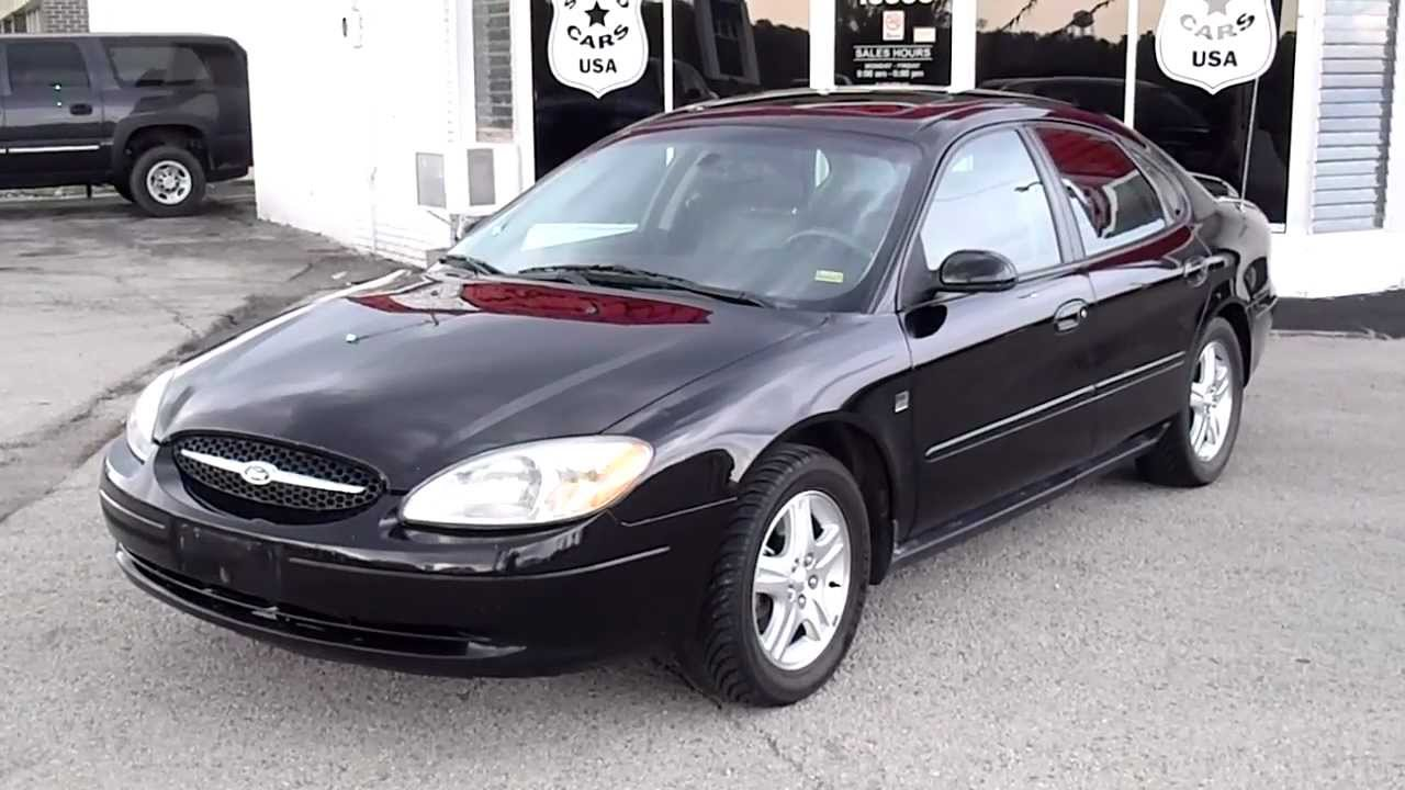 2002 ford taurus sel premium - youtube