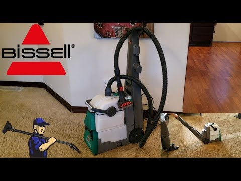 Bissell Big Green Professional Carpet Cleaner Review | Model 86T3