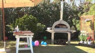 Итальянская печь на дровах 4 Pizze(Легкость и быстрота приготовления в печи 4 Pizze. Купить печь alfa-pizza.ru., 2014-02-25T05:56:23.000Z)