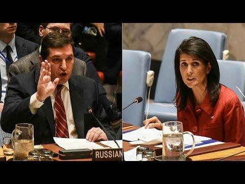 Cruce de acusaciones entre EEUU y Rusia en la ONU