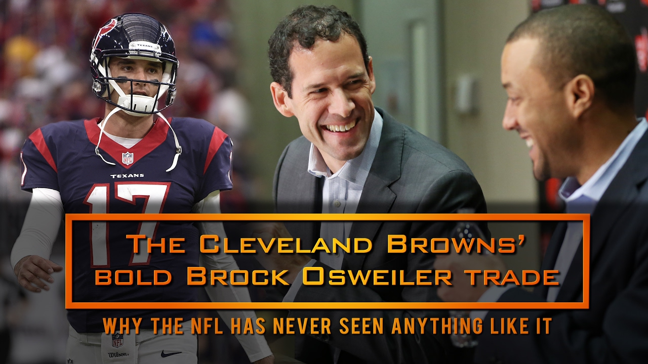 Report: Browns looking to trade Brock Osweiler