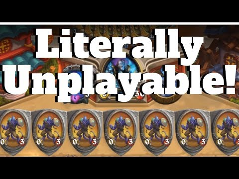 Filling Your Opponent's Board With 0/3 Taunts! [Hearthstone Game Of The Day]