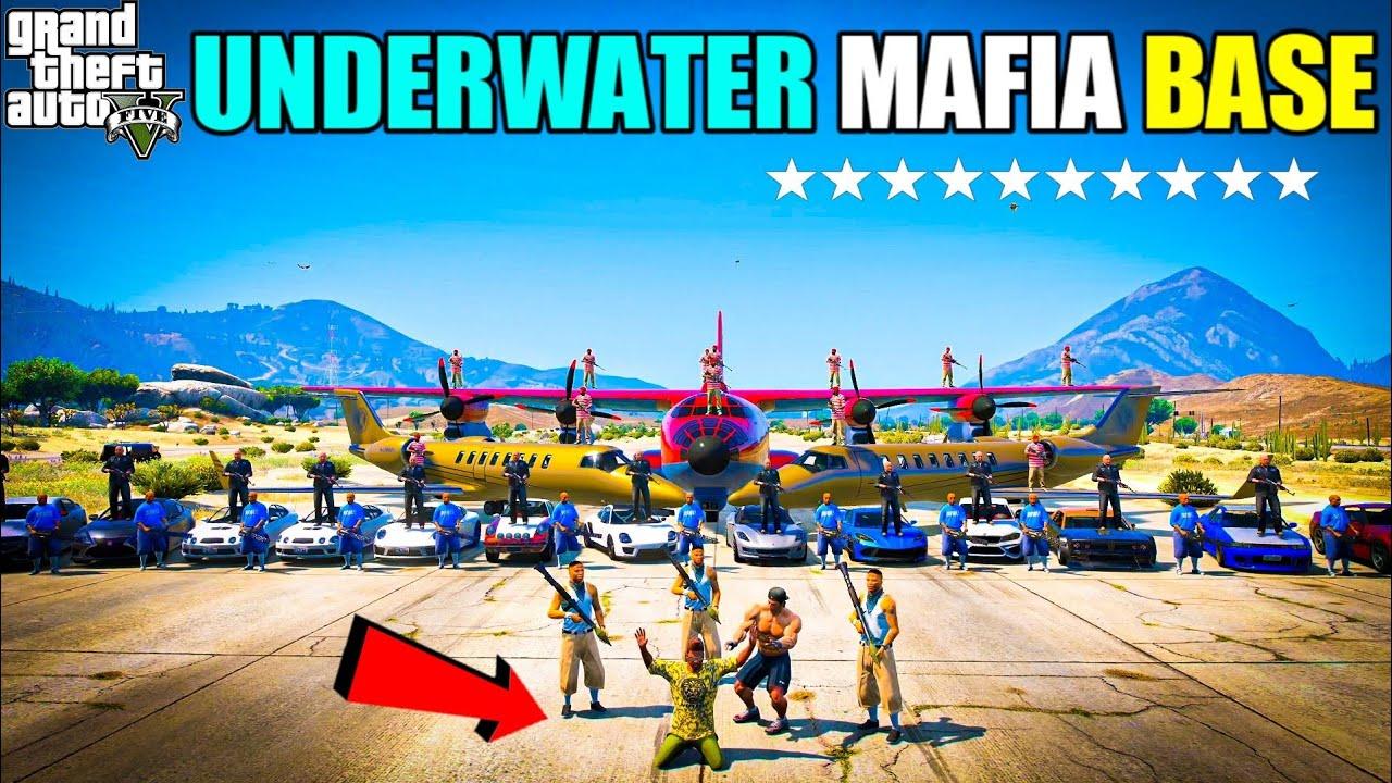 GTA 5 : FINALLY FRANKLIN FOUND UNDERWATER MAFIA BASE OMG 🔥   GTA 5 GAMEPLAY #150