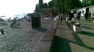 Пляж и набережная Вардане / Sochi(Видео пляжа и набережной в Вардане 19 июня 2011 года., 2011-06-23T10:46:02.000Z)