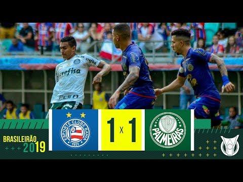 BAHIA 1 X 1 PALMEIRAS - Melhores Momentos - Brasileirão 2019 (17/11)