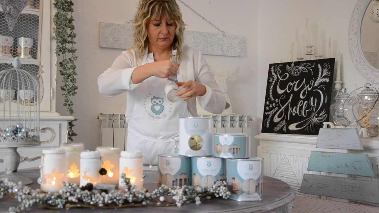Tutorial Lanterne Di Natale Prodotti In Vendita Sullo Shop Online Www Shabbychiclife It