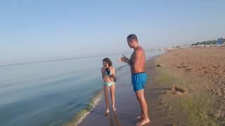 Море в Витязево 8.08.2016 - 6.40 утра