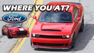 725HP Hellcat Drag Pack: NEWS UPDATE (GT500 Competition?) thumbnail
