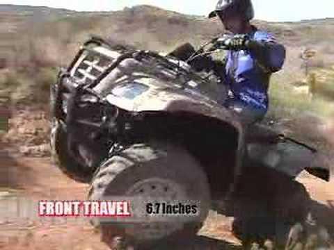 ATV Television Test - 2006 Suzuki Eiger 4004x4
