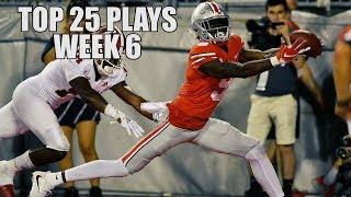 College Football Top 25 Plays 2018-19 || Week 6 ᴴᴰ