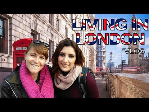 LIVING IN LONDON 2 DAYS | HOLIDAYS 2017 VLOG