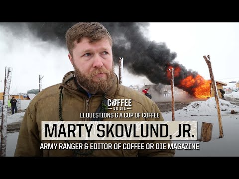 11 Questions & A Cup Of Coffee: Army Ranger And Coffee Or Die Editor Marty Skovlund Jr.