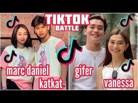 Marc Daniel and Kat Vs Gifer and Vanessa Tiktok Couple Battle