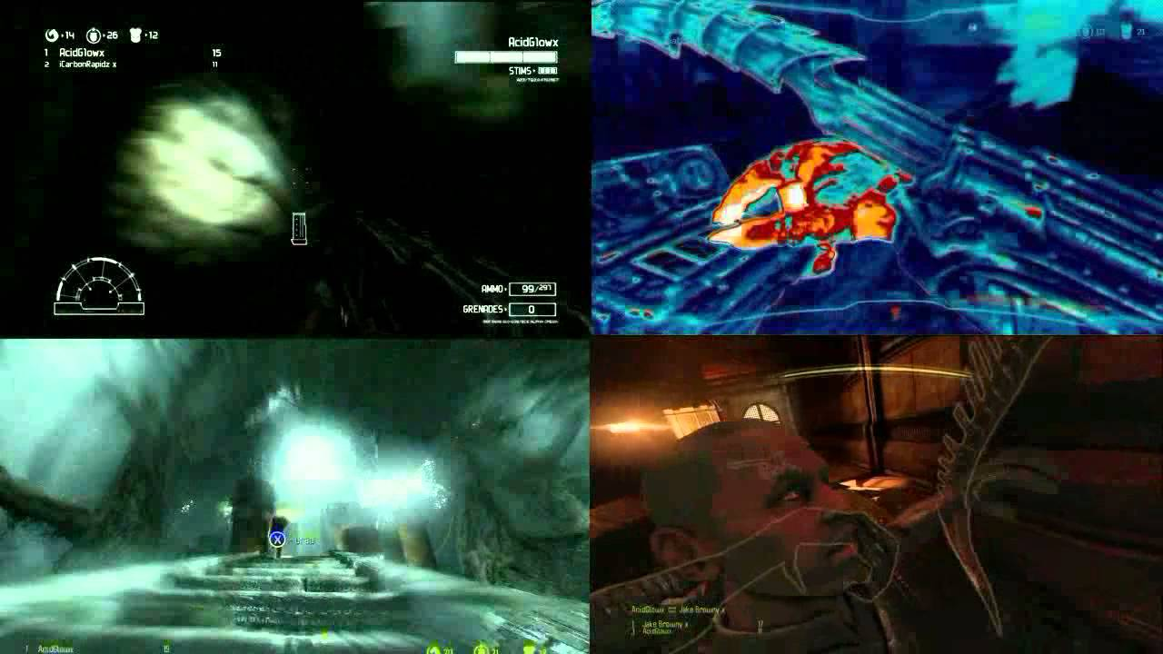aliens vs predator surrounded Wallpaper, Game HD ...  |Alien Vs Predator Xbox 360 Wallpaper
