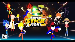 Super Stick Fight All-Star Hero: Chaos War Battle