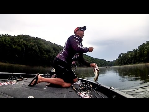 Big Bass on Lake Ouachita