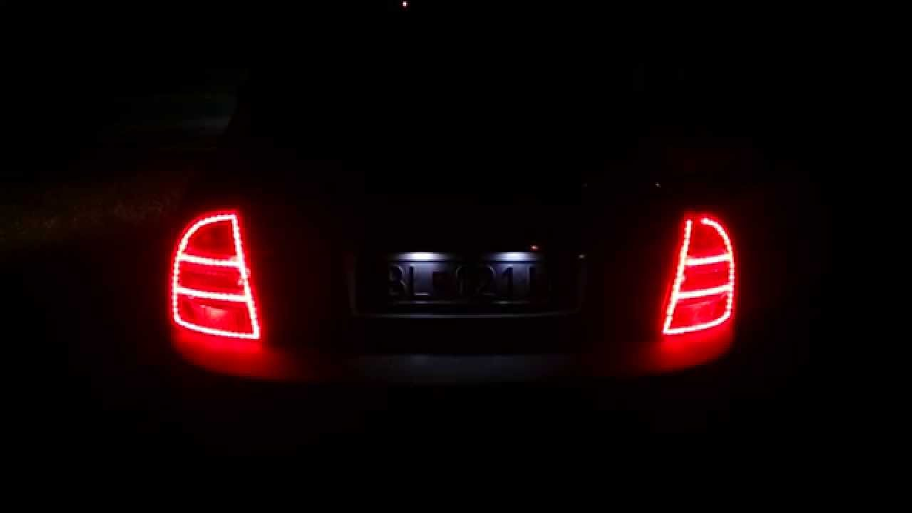 skoda octavia a5 tuning rear light litec