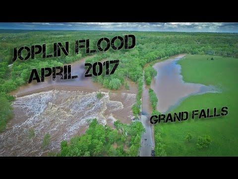 Shoal Creek - Low Water Bridge and Grand Falls - Joplin MO