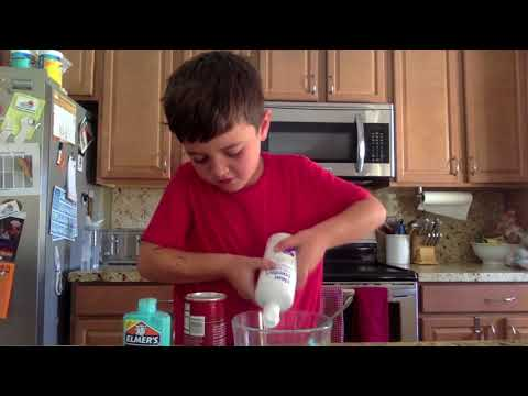 Easy Glow Slime for Kids
