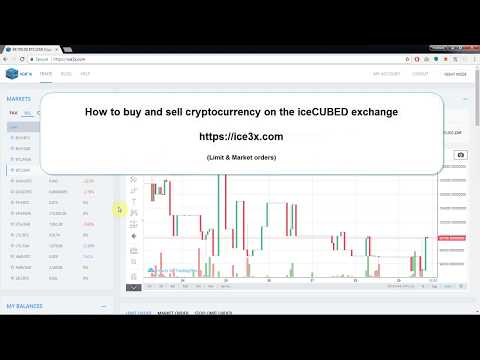 IceCUBED Cryptocurrency Exchange - How To Buy And Sell Bitcoin