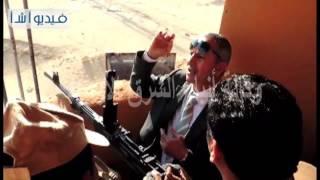 بالفيديو مدير الأمن يتفقد الكمائن الامنية فى ذكرى ثورة يناير