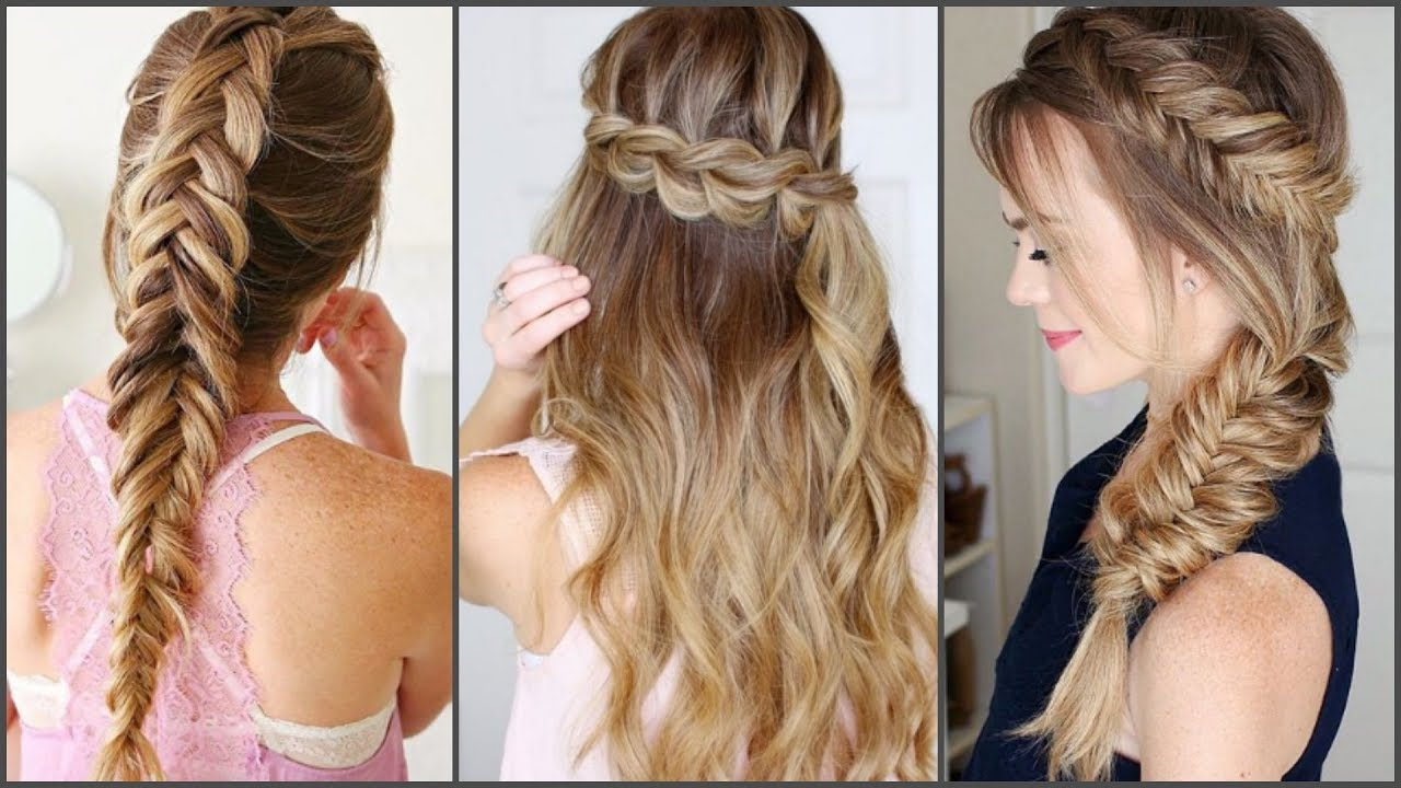 Peinados De Moda 2017 Hairstyles 2017 2018 Youtube