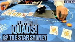 Flopping QUADS at The Star Casino! - Poker Vlog #36