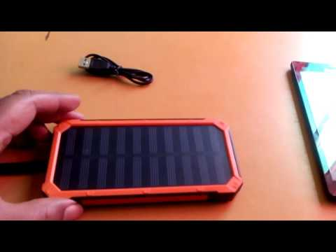 Solar Powered Battery Charger Review Swordsaint7