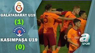 Galatasaray U19 1 - 0 Kasımpaşa U19 MAÇ ÖZETİ (Süper Lig U19 Gelişim Ligi Yarı Final Maçı)