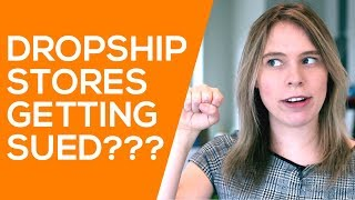 How to Not Get SUED When Dropshipping (w/ Aliexpress & Shopify)