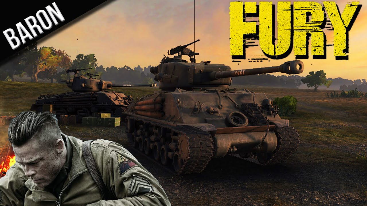 World of Tanks Fury Review & Gameplay (Premium M4A3E8 Fury Tank - WOT 9 3)