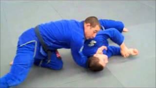 LapelChoke.com Technique – Knee on Belly to X-Choke Variation