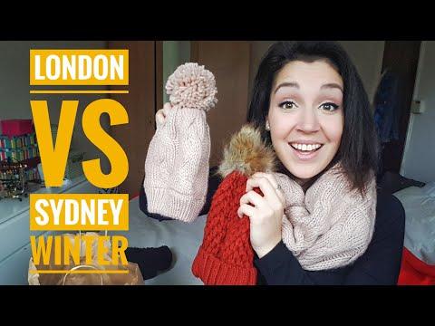 Winter In London Vs In Sydney