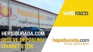 Hepsiburada.com Ofis ve Deposunu gezdik | Girişim Ofisleri