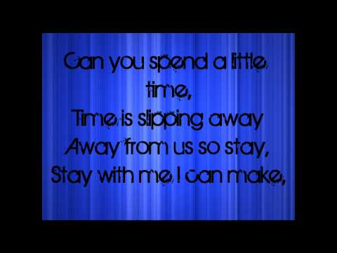 The Wanted - GLAD YOU CAME (HD) lyrics on screen