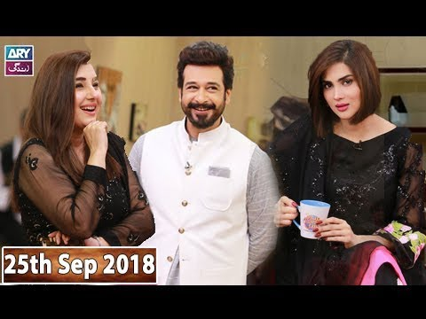 Salam Zindagi With Faysal Qureshi - Javeria Saud & Fiza Ali - 25th September 2018