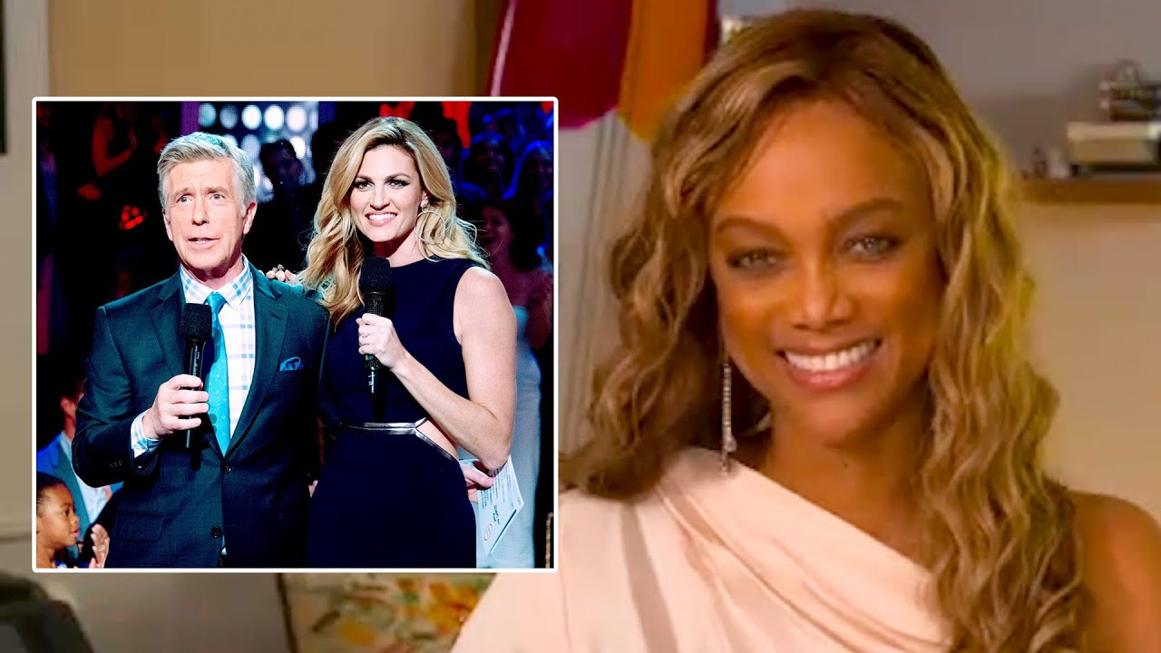 Tyra Banks Talks Replacing Erin Andrews & Tom Bergeron