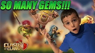 SO MANY GEMS Clash of Clans! LIVE 🔥