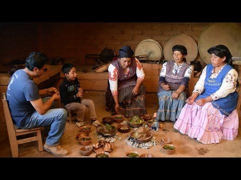 Mä´ätsy (Machucado), comida ancestral y sagrada de la tierra mixe
