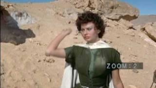 Sophia Loren In Desert Movie + Hot Spider Attack FinaLe