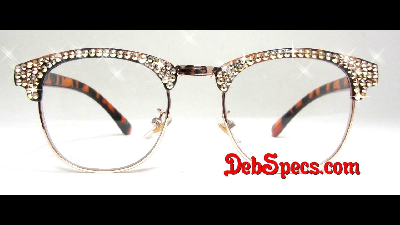 f94814c0a28e Starbright Genuine Swarovski Reading Glasses. DebSpecs.com
