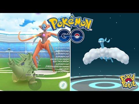 PREPARANDO POKÉMON PARA LA LIGA SÚPER! DEOXYS FORMA ATAQUE Y MUCHO MÁS! [Pokémon GO-davidpetit] thumbnail
