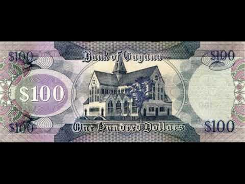 Paper Money Of Guyana Is The Guyana Dollar - Banknotes - Banknotes
