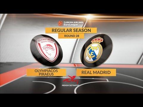 Highlights: Olympiacos Piraeus-Real Madrid