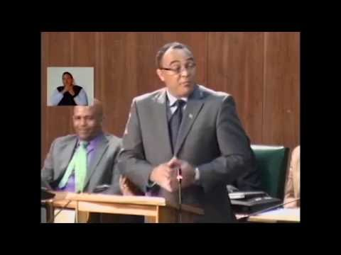 Sectoral Debate Presentation by Dr. the Hon. Christopher Tufton - June 29, 2016