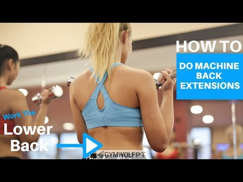 How To: Do Machine Back Extensions