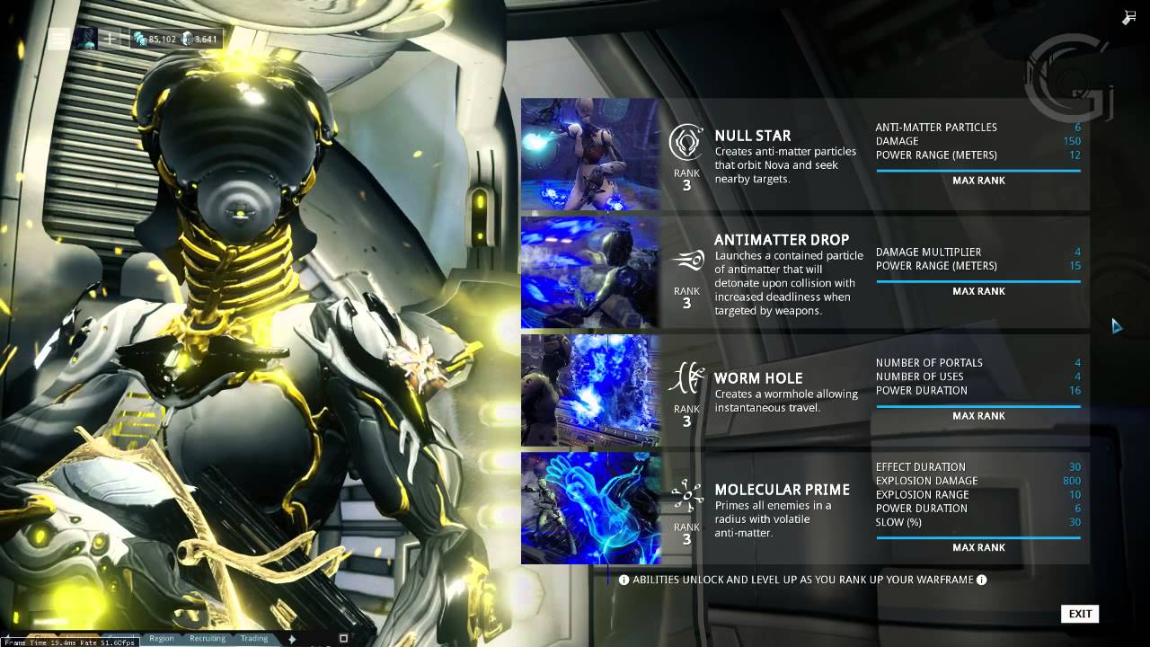Warframe Nova Prime Builds Guide V2 0 Visionary Advice Youtube Reduces base damage to 80 and contact damage to 4. warframe nova prime builds guide v2 0 visionary advice